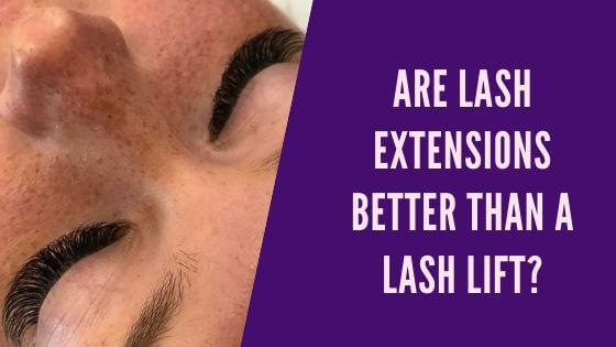 ต่อขนตาดีกว่าลิฟติ้งขนตาจริงหรือ?