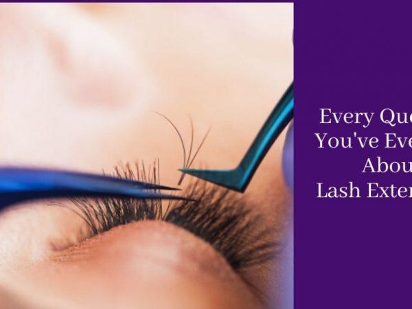 ทุกคำถามที่คุณเคยมีเกี่ยวกับการต่อขนตา